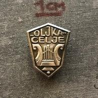 Badge Pin ZN007392 - Music Yugoslavia Slovenia Celje Oljka SILVER AG - Music