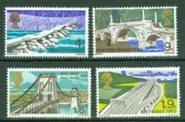 G.B.: 1968   British Bridges  MNH - 1952-.... (Elizabeth II)