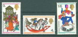 G.B.: 1968   Christmas  MNH - 1952-.... (Elizabeth II)