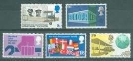 G.B.: 1969   Anniversaries  MNH - 1952-.... (Elizabeth II)