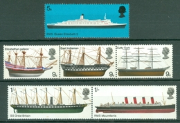 G.B.: 1969   British Ships     MNH - 1952-.... (Elizabeth II)