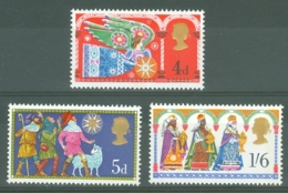 G.B.: 1969   Christmas  MNH - 1952-.... (Elizabeth II)