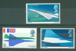 G.B.: 1969   First Flight Of Concorde  MNH - 1952-.... (Elizabeth II)