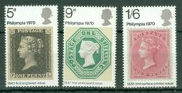 G.B.: 1970   'Philympia 70' Stamp Exhibition    MNH - 1952-.... (Elizabeth II)