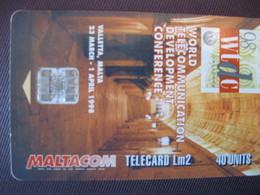 Télécarte Ile De  Malte - Malta