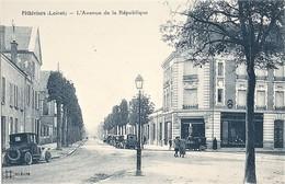 45-CPA-PITHIVIERS L AVENUE DE LA REPUBLIQUE - Pithiviers