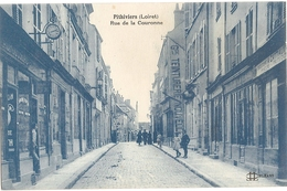 45-CPA-PITHIVIERS RUE DE LA COURONNE - Pithiviers