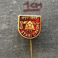 Badge Pin ZN007400 - Firemen Yugoslavia Croatia DVD Stari Gradec 1977 - Bomberos