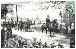 "21/   ""environ De Dijon"" Maneuvre 1904  (Format 9x 14) - Dijon"