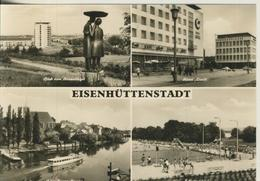 Eisenhüttenstadt V. 1970  4 Ansichten  (3024) - Eisenhüttenstadt