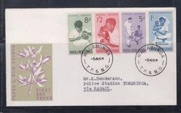 Papua New Guinea 1964 Health FDC(MALABUNGA Cancellation) - Papua New Guinea