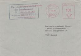 Modern German Military Post: Personalstammamt Der Bundeswehr In Köln To Kreiswehrersatzamt Kassel - Militaria