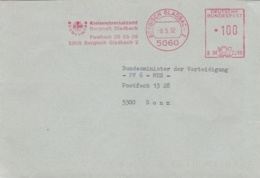 Modern German Military Post: Kreiswehrersatzamt Bergisch Gladbach To Bundesministerium - Militaria
