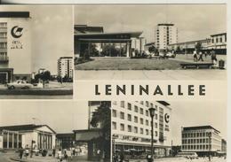 Eisenhüttenstadt V. 1970  Leninallee  (3028) - Eisenhuettenstadt