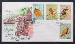 Papua New Guinea 1970 Birds Of Paradise FDC(WCS) - Papua New Guinea