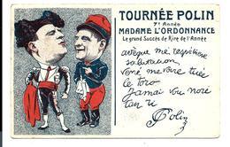 Carte Ancienne Tournée POLIN (1905) - Cabaret