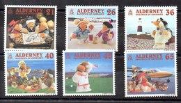 Serie De Alderney Nº Yvert 152/57 (**) - Alderney