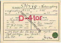 QSL - QTH - D-4tor - 1933 - Amateurfunk
