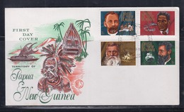 Papua New Guinea 1972 Missionaries FDC(WCS) - Papouasie-Nouvelle-Guinée