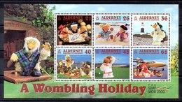 Hoja Bloque De Alderney Nº Yvert 7 (**) - Alderney
