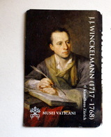 VATICANO 2018, VATICAN MUSEUM NEW ENTRANCE TICKET J.J. WINCKELMANN - Tickets - Vouchers