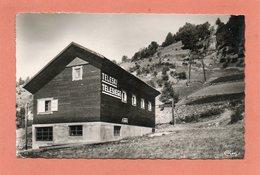 CPSM Dentelée - PEISEY-NANCROIX (73) - Aspect De La Gare Du Téléski-télésiège En 1958 - Other Municipalities