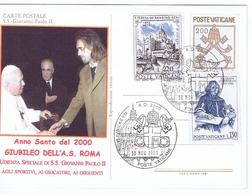 GIUBILEO 2000 BATISTUTA DAL PAPA - Vaticano