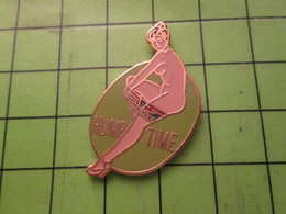 810h Pin's Pins / Beau Et Rare / THEME AVION AVIATION :  NOSE-ART USAAF 39-45 PIN-UP HUMP TIME - Airplanes