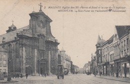 MECHELEN / KEIZERSTRAAT / KERK ST PIETER EN PAULUS - Malines
