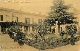 - Dpts Dv -ref-AE289- Maine Et Loire - Doué La Fontaine -interieur Des Récollets - Couvents - Religions - Cedre - Arbres - Doue La Fontaine