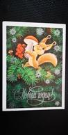 Happy New Year - Zarubin  - OLD PC 1978  - Mushroom - Champignon - Champignons