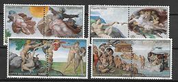 VATICAN     -    1994 .     Y&T N°  969 à 976 * .   Série Complète .  Michel-Ange  /  Chapelle Sixtine - Nuovi