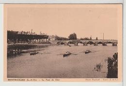 41 - MONTRICHARD - Le Pont Du Cher - Montrichard