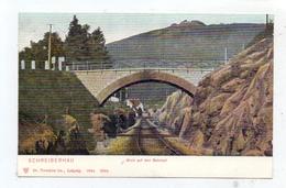 NIEDER-SCHLESIEN - SCHREIBERHAU / SZKLARSKA POREBA, Blick Auf Den Bahnhof, 1904, Trenkler-Leipzig - Schlesien