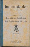 Immenkalender Für Das Jahr 1972, Elsass-Lothringischen Bienenzüchterverein, Société D'Apiculture D'Alsace Et De Lorraine - Calendars