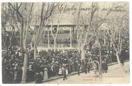Cpa Narbonne - Kiosque De La Musique - Promenade De La Gare ... ( S. 3269 ) - Narbonne
