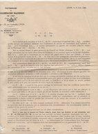 Lyon  ( Franc Maçonnerie) Document De 1928 (PPP9654) - Old Paper