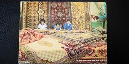 Mongolia. Ulan Bator. Carpet Shop -  OLD PC 1970s - Mongolie