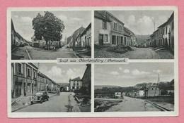 57 - GRUSS Aus OBERHOMBURG - HOMBOURG HAUT - Westmark - Bäckerei - Lebensmittel Marcel BOUR - Guerre 39/45 - Frankreich