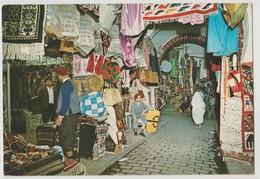 Tunisie : Jolie Carte Postale Avec Un Bel Affranchissement - - Tunisie
