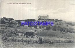 103205 MALTA BOSCHETTO VERDALA PALACE POSTAL POSTCARD - Malta