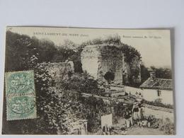 RHONE-SAINT LAURENT DE MURE-RUINES ROMAINES DU IVe SIECLE-ANIMEE - Frankrijk