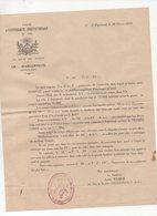 Argenteuil   ( Franc Maçonnerie) Document De 1932 (PPP9659) - Old Paper
