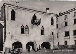GARDA-VERONA-LAGO DI GARDA-PALAZZO DEI CAPITANI-CARTOLINA VERA FOTOGRAFIA-VIAGGIATA IL 25-4-1957 - Verona