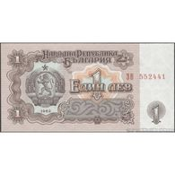 TWN - BULGARIA 88a - 1 Lev 1962 Prefix ЗВ AU/UNC - Bulgaria