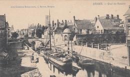 BRUGGE / GROENE REI / VERKEERDE OPDRUK QUAI DU ROSERAI / UITGIFTE AUX GALERIES BRUGEOISES - Brugge