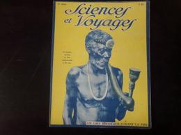 """Revue """" Sciences Et Voyages """" N° 354, 1926, """" Un Chef Rhodésien Fumant La Pipe """" - Livres, BD, Revues"""