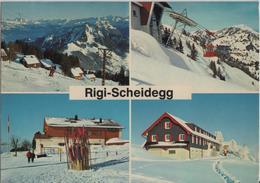 Rigi-Scheidegg - Multiview Im Winter En Hiver - SZ Schwyz