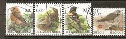 Belgique Belgium 2000 Oiseaux Birds Francs Et Euro Obl - Belgium