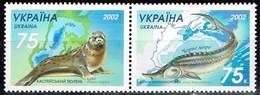 Ukraine 2002, Michel # 530 - 531 ** Zusammendruck - Ukraine